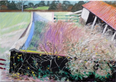 The Abandoned Byre  oil painting