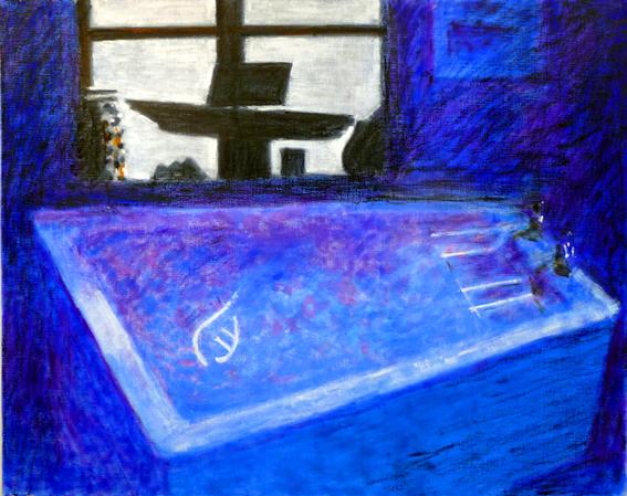 73 Moonlight in the Bathroom