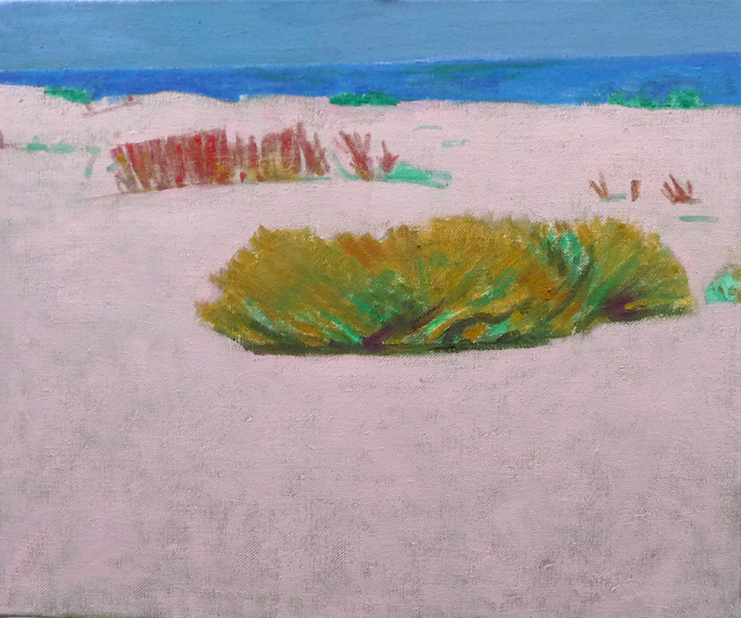63  TheHalophytic Shore oil on canvas  11 13