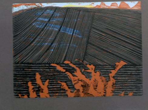Hedgerow Oakleaves Hanging Onlinoprint    £95