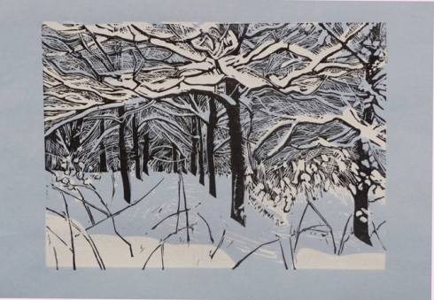 Snow in the New Copselinoprint £95