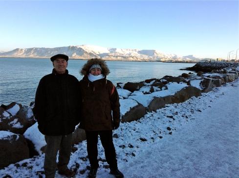 DP & Boo in Reykjavik