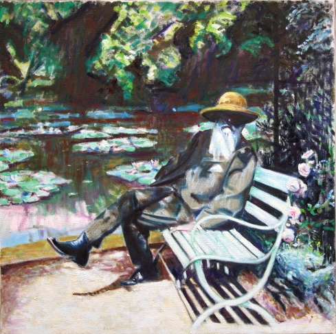 Monet by the Lilly-Pond 2 copy 2