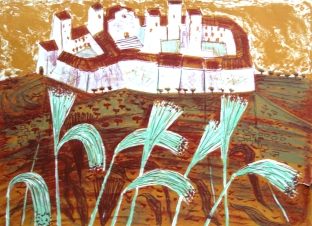 TO litho San Gimignano copy