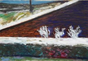 97 Frosty Field Corner